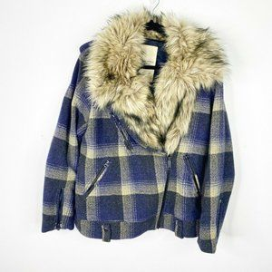 Ralph Lauren Denim And Supply Womens Moto Jacket L